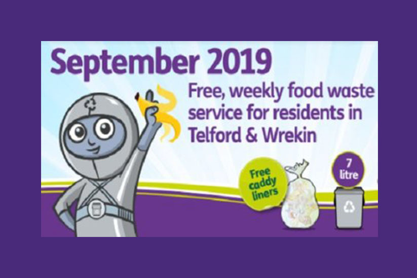 Severn Trent Green Power support Telford and Wrekin in their roll out of food waste collections
