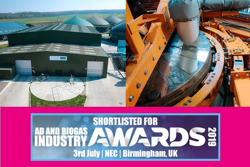 ST Green Power have been shortlisted for 2 prestigious ADBA awards